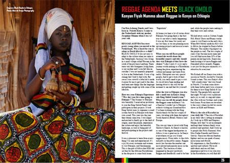 black omolo reggae agenda magazine