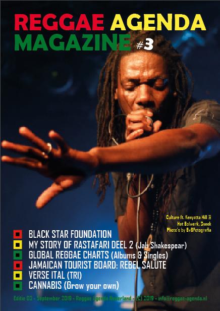reggaezine 03 magazine reggae agenda