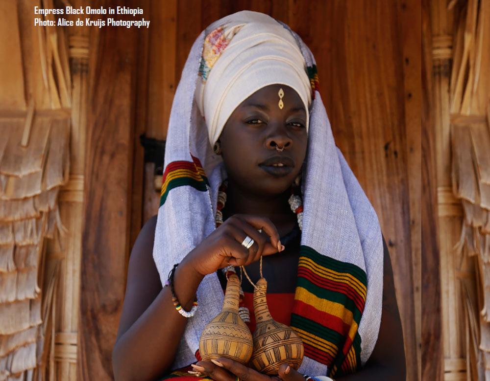 Empress Black Omolo interview reggae agenda magazine