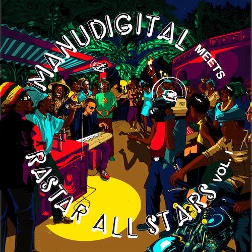 Manudigital meets Rasta All-stars vol. 1