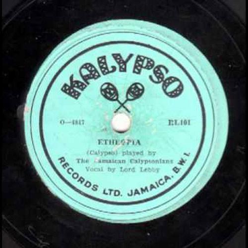 Lord Lebby the jamaican calypsonians