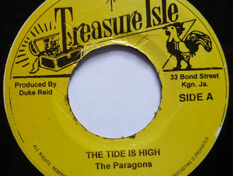 Creation Tunes Tide is High - The Paragons
