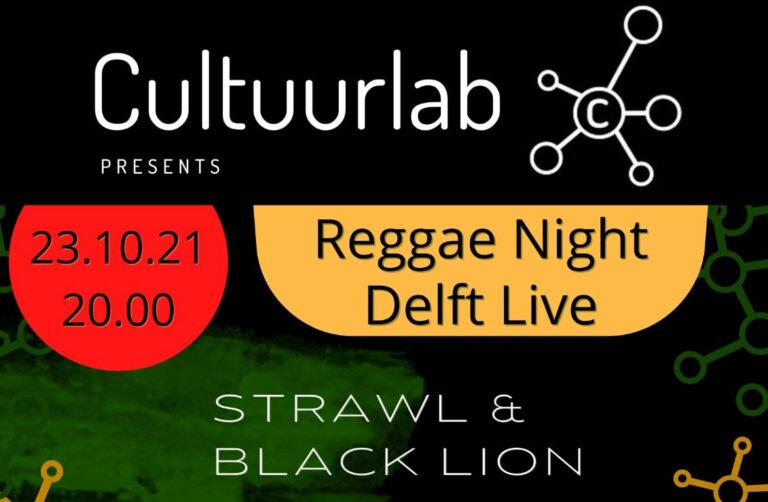Cultuurlab delft strawl black lion